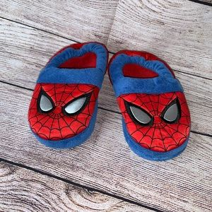 Boys Marvel Spider-Man House Shoes Size 9/10